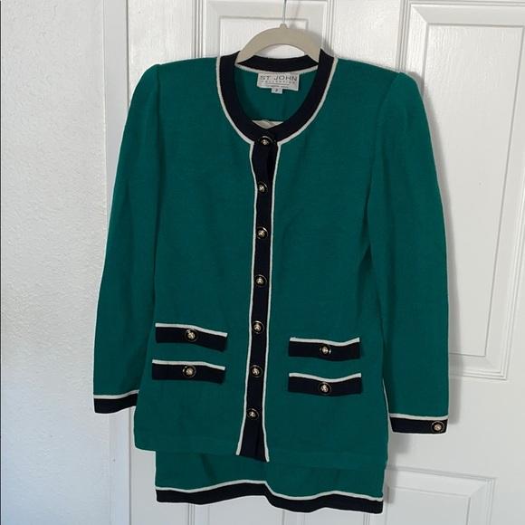 St. John skirt suit